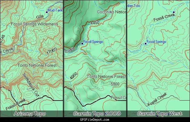 Arizona Topo Map (24k Equivalent) Released - GPS - Geocaching Forums