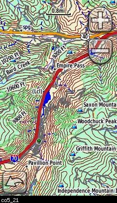 Colorado Topo Garmin Compatible Map GPSFileDepot - Colorado topo maps