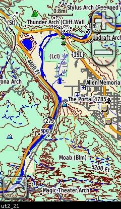 Utah Topo 2011 Garmin Compatible Map - GPSFileDepot