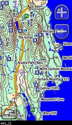Topo Map Of Maine.Maine Topo Garmin Compatible Map Gpsfiledepot