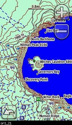 Oregon Topo Garmin Compatible Map GPSFileDepot - Oregon topographic map