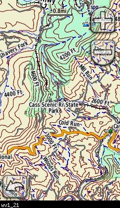West Virginia Topo Garmin Compatible Map - GPSFileDepot