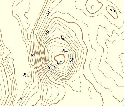 Contour Lines On A Map BC Topo Contour Line Overlay Garmin Compatible Map   GPSFileDepot