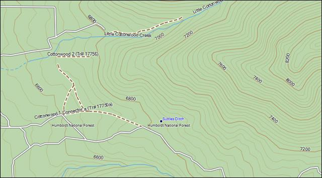 Nevada Topo Garmin Compatible Map - GPSFileDepot