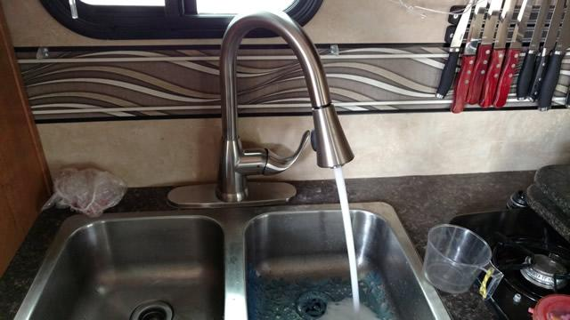 Kitchen Faucet Won T Work Rv